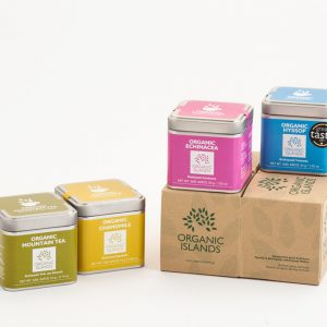Winter herbal tea collection